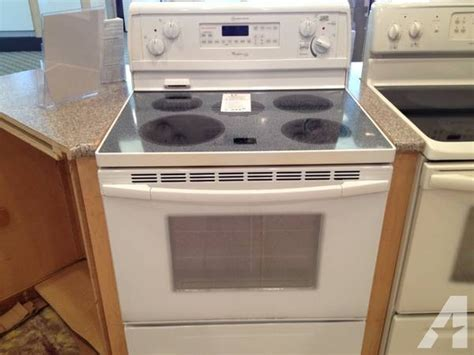 How To Clean A Self Cleaning Oven Glass Door Whirlpool Gold Self Cleaning Glass Top Range Stove Oven Used For Sale In Tacoma Washington