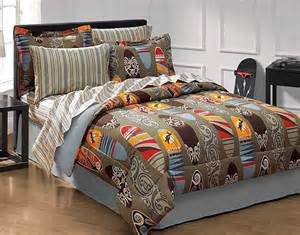 surfer bedding surfs up bedding set 8pc surfboard comforter set bed