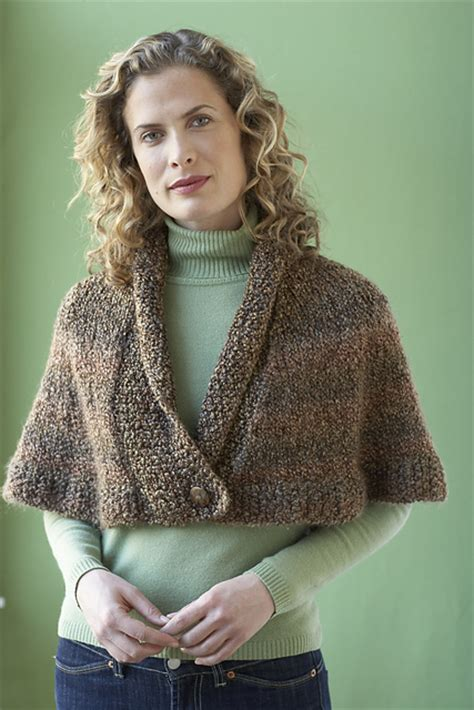 Free Knitting Pattern Library Capelet | capelet knitting patterns in the loop knitting