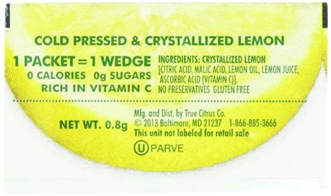 Free Product Sles True Lemon And True Lime by True Lemon Bulk Pack 500 Count With 5 Free True Lemon