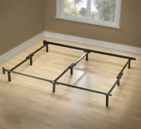 Metal Bed Frame Cal King Greenhome123 California King Size 9 Leg Adjustable Metal Bed Frame