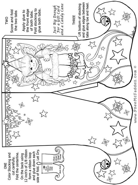 elf stocking coloring page 1000 images about coloring pages christmas on pinterest