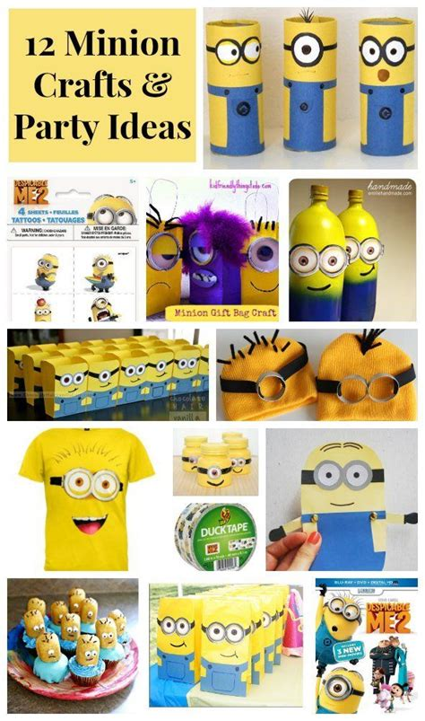 Despicable Me 12 12 despicable me minion crafts ideas minion