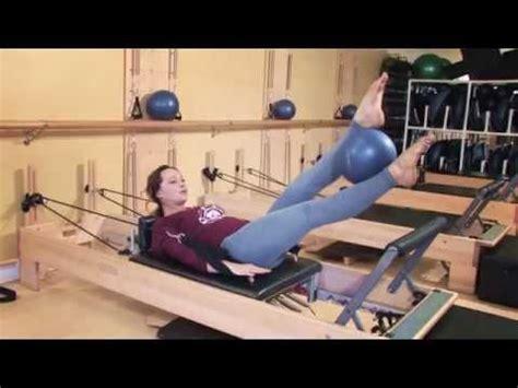 pilates reformer exercises ideas  pinterest