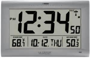 Digital Wall Clock Amazon by Amazon Com La Crosse Technology 513 1311ot Jumbo Atomic