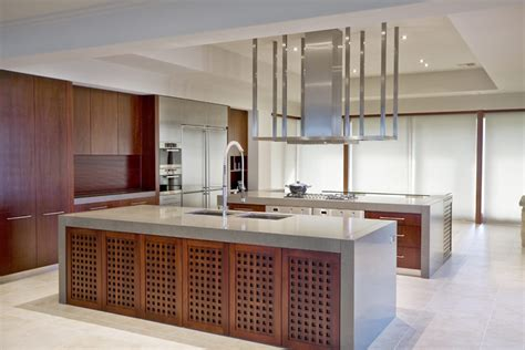 Solid Wood Kitchen Island using timber veneer in your kitchen