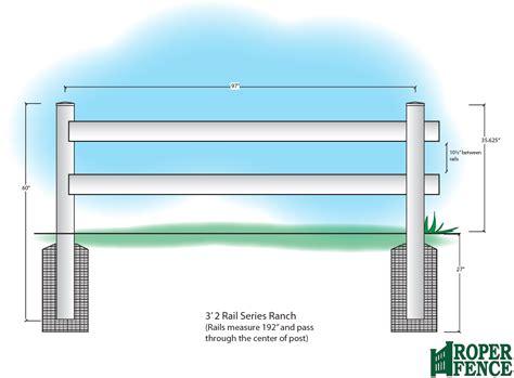 May Ranch ranch rail series roper fenceroper fence