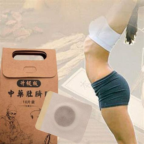 Detox Stomach Pads by Medicine 10pcs Bag Strongest Weight Loss Slimming