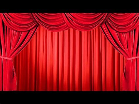 how to make stage curtains how to create the effect of opening and closing the stage