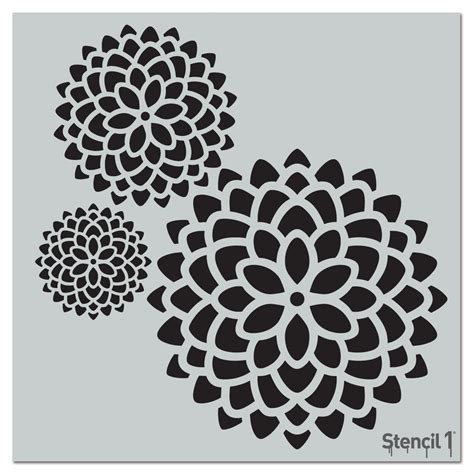 repeat pattern wall stencil stencil1 mum 3 repeat pattern stencil s1 pa 63 the home