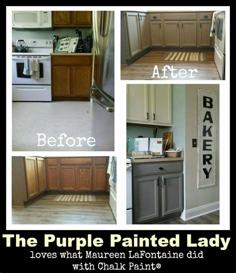 paint kitchen cabinets before after are your kitchen cabinets dated before after photos