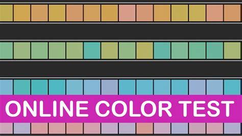 color hue test testing color vision littlearttalks