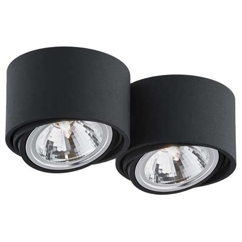 spot lampa sufitowa lumos   kaspa czarny mlamppl