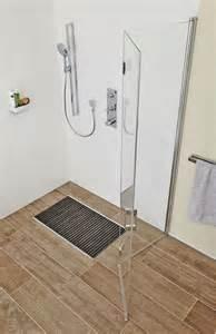 faltwand dusche walk in dusche zum wegfalten tga fachplaner