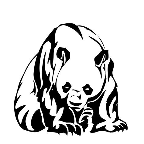 tribal panda tattoo tribal panda by p0wd3r on deviantart tribal designs