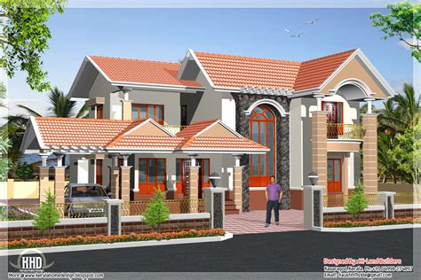 south indian 2 storey house kerala home design and floor