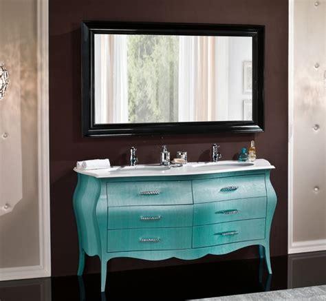 mobili bagno con due lavabi mobile in legno bombato per bagno due lavabi arredo