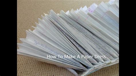 How To Make A Paper Skirt - how to make tutu out of paper