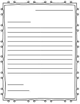 letter template task list templates
