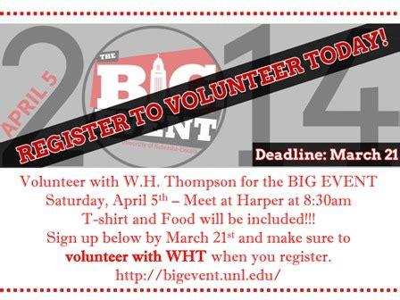 volunteer opportunities in lincoln ne big event volunteer opportunity announce