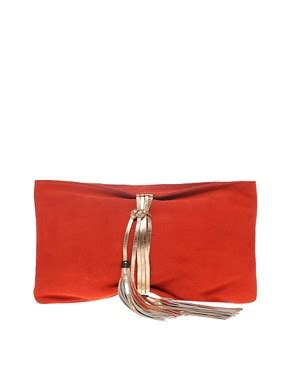 Asos Vintage Style Scarf Clutch by Bad Request