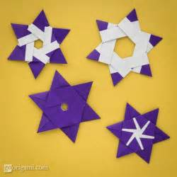 6 Pointed Origami - pin origami easy pictures on
