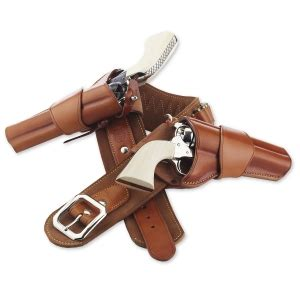 1880's holster crossdraw: single action western holsters