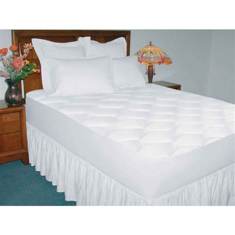 quiet comfort waterproof mattress pad 200 thread count deluxe cotton waterproof mattress pad queen