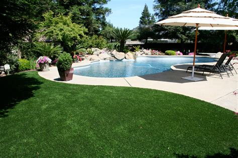 Astro Turf Backyard by Triyae Artificial Grass Backyard Ideas Various