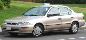 Chevrolet Prizm Geo Prizm