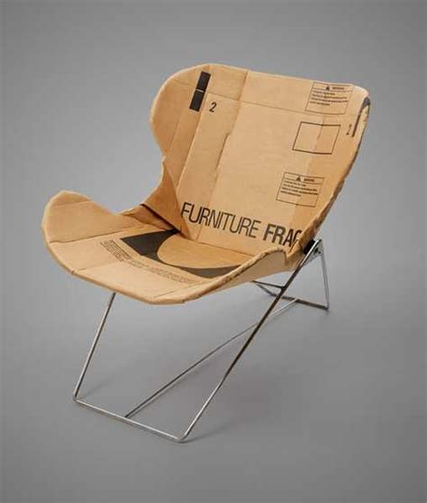 unique recliner chairs recycling paper and cardboard unique chair design by dan