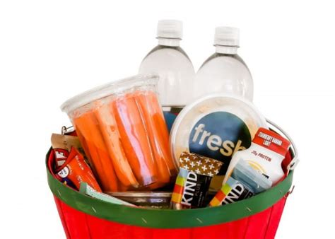 protein gift basket parent and family program