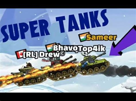 hill climb racing 2 super tanks youtube