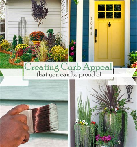 ways to create great curb appeal for your home homes - Create Curb Appeal