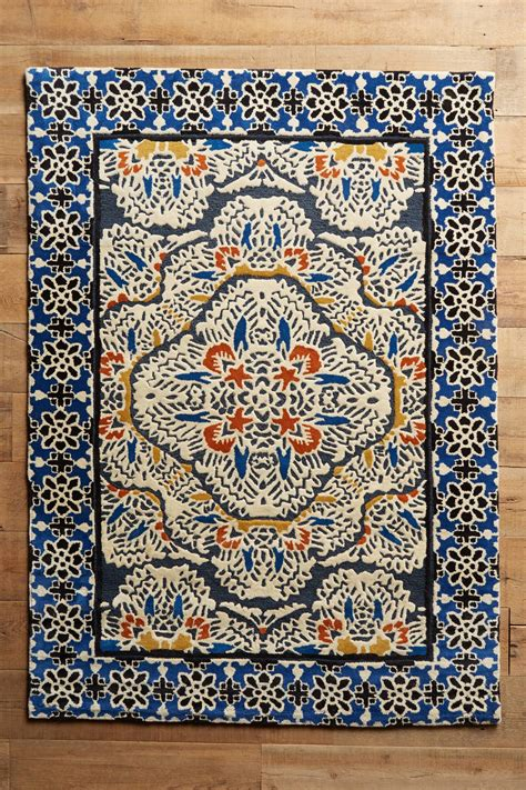 Anthropologie Kitchen Rug Tufted Regalia Rug Anthropologie