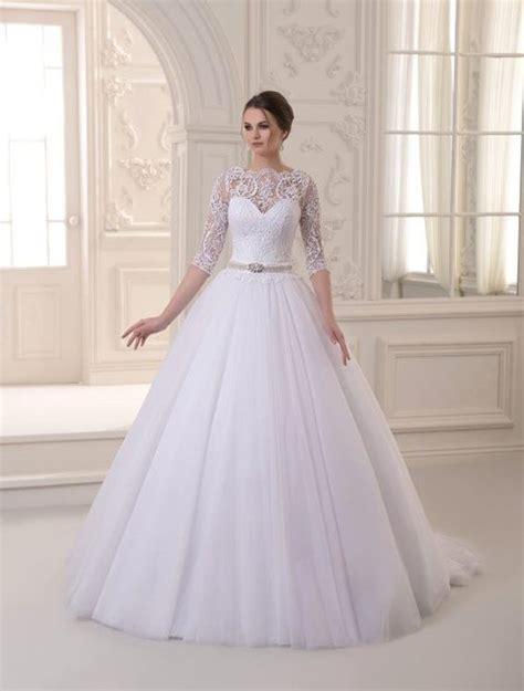 imagenes de vestidos de novia tradicionales yajaida vestidos de novias tradicionales con mangas 3 4
