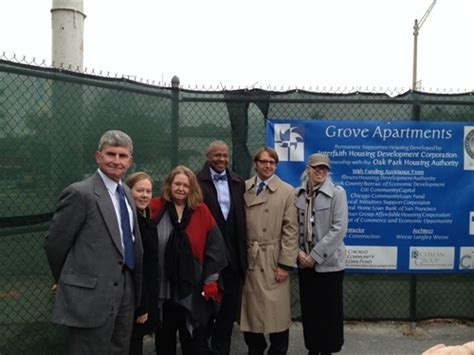 oak park housing authority local county state and private sector collaboration in action at the grove