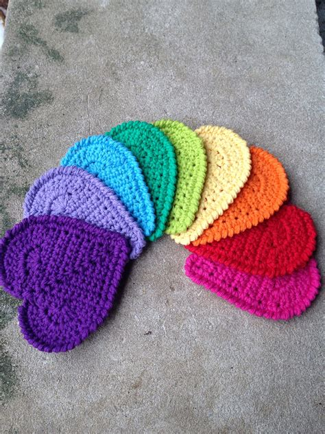 free patterns at ravelry valentine heart coaster by andee graves free crochet
