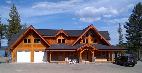 simple timber frame homes plans ehouse plan post beam