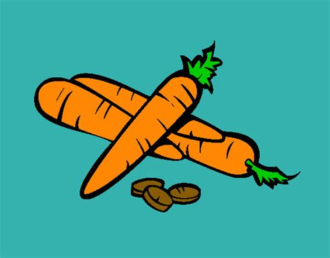 imagenes de zanahoria en ingles dibujo de zanahoria pintado por lilistyles en dibujos net