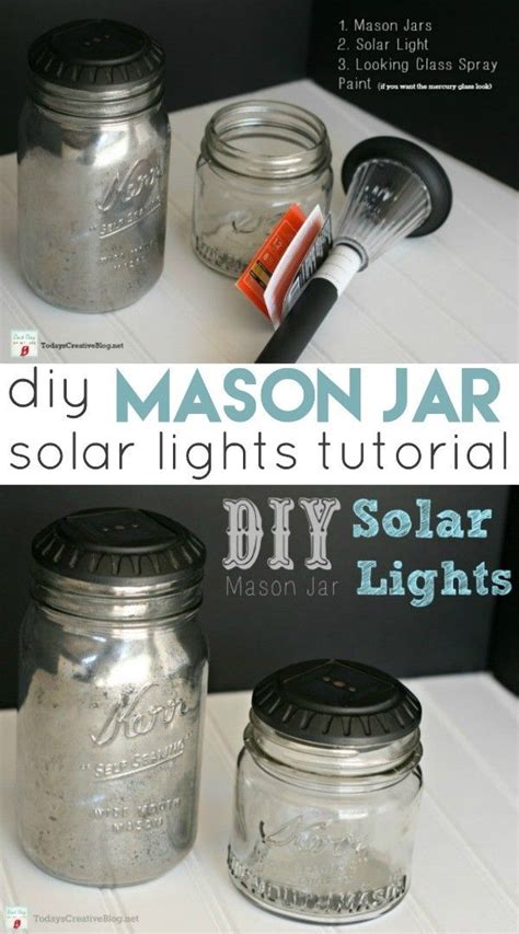 images  mason jar crafts  pinterest jars