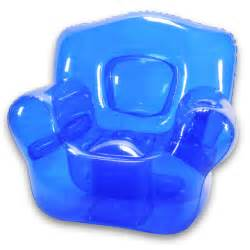 chair blue by inflatables fab