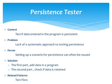 pattern of net exam for commerce patterns for scripted acceptance test driven development