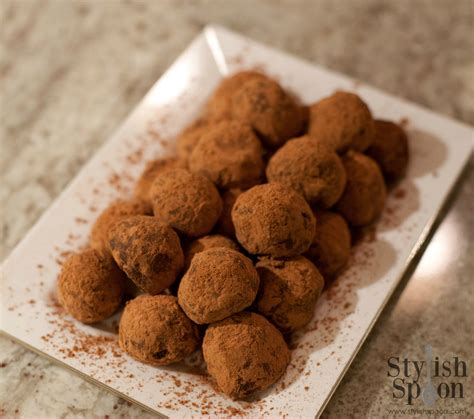 Handmade Chocolate Truffles Recipe - recipe chocolate truffles stylish spoon