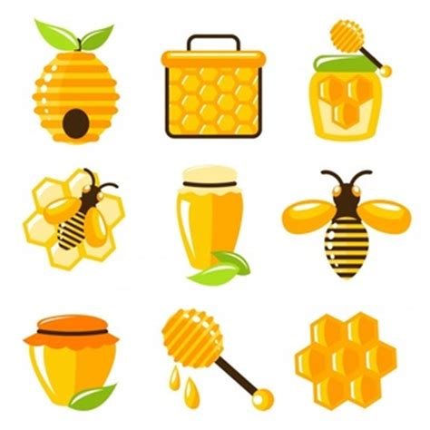 Madu Stick Bee honey vectors photos and psd files free