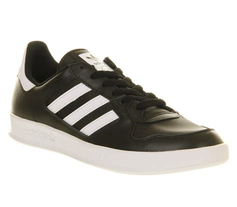 Adidas Tennis Black lyst adidas tennis court top black run white in black