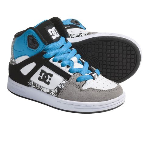 dc skate shoes dc shoes rebound skate shoes for boys 5082u save 32