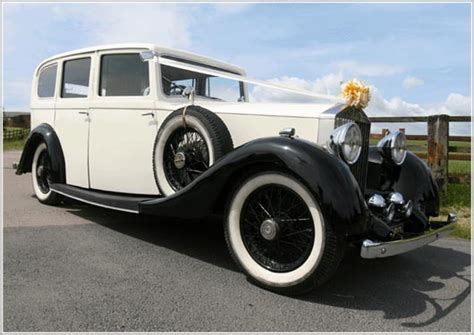 antique rolls royce elegance wedding car hire in sutton coldfield tamworth