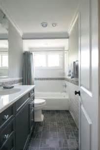 dark floor bathroom tiny hall bath subway tile dark floors dark vanity