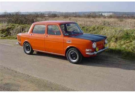 Auto Rally 1970 by Testberichte Und Erfahrungen Simca 1000 Rallye 1 60 Ps